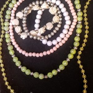 Other - Child's 3 necklaces and 3 bracelets